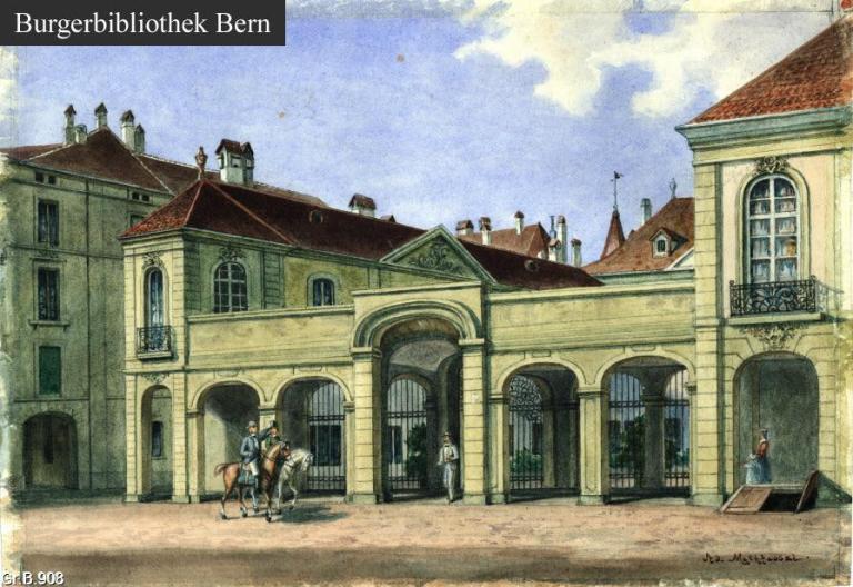 Der Erlacherhof, Junkerngasse 47, (heute Sitz der Stadtregierung)